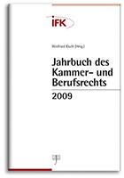 Jahrbuch des Kammer- und Berufsrechts 2009 (Cover)