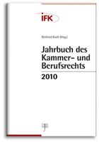 Jahrbuch des Kammer- und Berufsrechts 2010 (Cover)