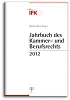 Jahrbuch des Kammer- und Berufsrechts 2012 (Cover)