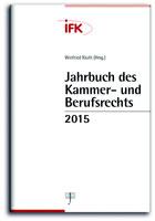 Jahrbuch des Kammer- und Berufsrechts 2015 (Cover)